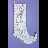 MacKenzie-Childs Patience Brewster - Dash Away Vixen Stocking