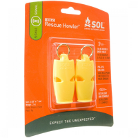 Fox 40 Rescue Howler (2 Pack) - OS Yellow   Tents