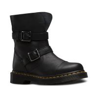 Dr. Martens Women's Kristy Virginia+Darken Suede Slouch Rigger Boot