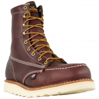 Thorogood 804-4386 Men's American Heritage 8 Moc Toe, MAXWear Wedge Safety Toe Boot""