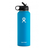 Hydro Flask 40 oz Wide Mouth w/ Straw Lid - Pacific
