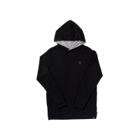 Hydro Flask Men's Logo Hooded Thermal - Black, Large