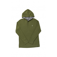 Hydro Flask Men's Logo Hooded Thermal - Olive, Large