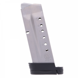 Smith & Wesson S&W M&P Shield 9mm 8-Round Stainless Steel Factory Magazine