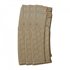 6 Pack of Hexmag Series 2 AR-15 .223/5.56 30-Round Magazine Flat...