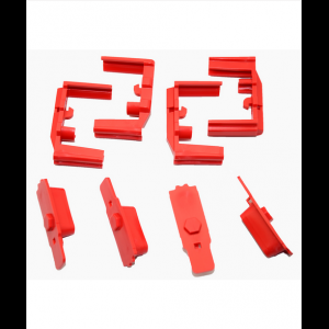 Hexmag HexID Color Identification System 4-Pack Lava Red Followers