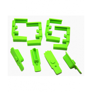 Hexmag HexID Color Identification System 4-Pack Zombie Green Followers