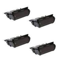 Remanufactured Dell 330-6990 (F361T) toner cartridges - black - 4-pack