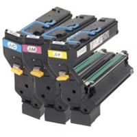 Original Konica Minolta 1710580-002 / 1710580-003 / 1710580-004 toner cartridges - 3-pack