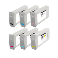 Remanufactured inkjet cartridges Multipack for HP 789 - 6 pack