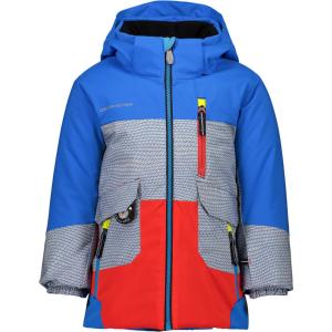 Obermeyer Nebula Jacket | Toddler Boys |19/20 | Multi Royal | Size 4